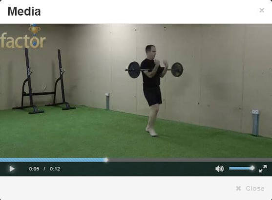 Strongman series of exercises added to our 3300 exercise library